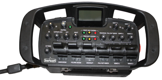 Maxi, (MILSTD 461F available), Cable or Radio Control or Combined