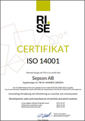 Sepson ISO 14001