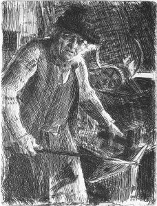 Master Smith by Anders Zorn